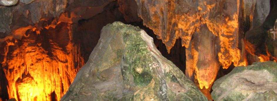 Wunderschöne Tropfsteinhöhlen